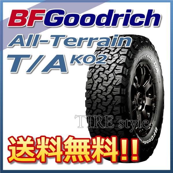 サマータイヤ BF GOODRICH ALL-Terrain T/A KO2 30X9.50R15LT 104S LRC レイズドホワイトレター 4X4・SUV用