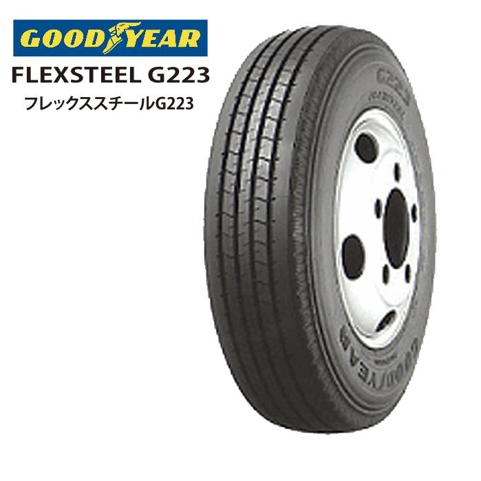 サマータイヤ GOODYEAR FLEXSTEEL G223 185/75R15 106/104L バン・小型トラック用