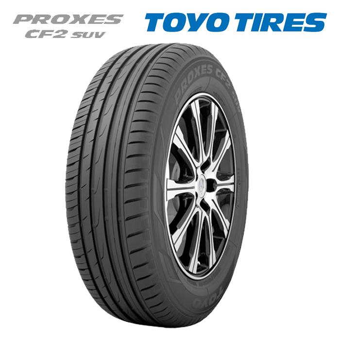 サマータイヤ TOYO TIRES PROXES CF2 SUV 225/65R18 103H 4X4・SUV用