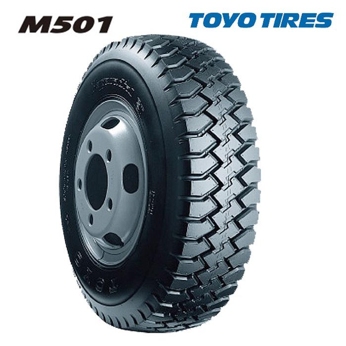 サマータイヤ TOYO TIRES M501 6.50R16 12PR チューブタイプ バン・小型トラック用