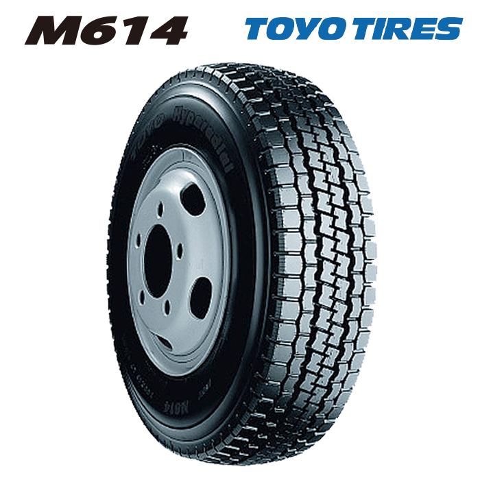 サマータイヤ TOYO TIRES M614 7.00R16 10PR チューブタイプ バン・小型トラック用