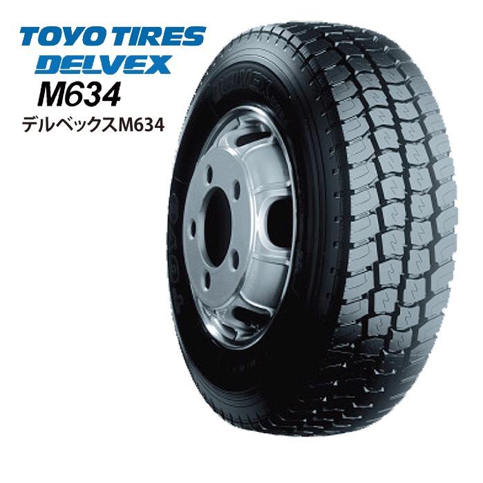 サマータイヤ TOYO TIRES DELVEX M634 205/85R16 117/115L バン・小型トラック用