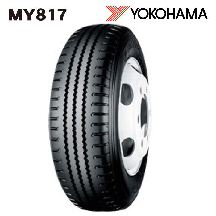 サマータイヤ YOKOHAMA MY817 チューブレス 205/75R16 113/111L バン・トラック用