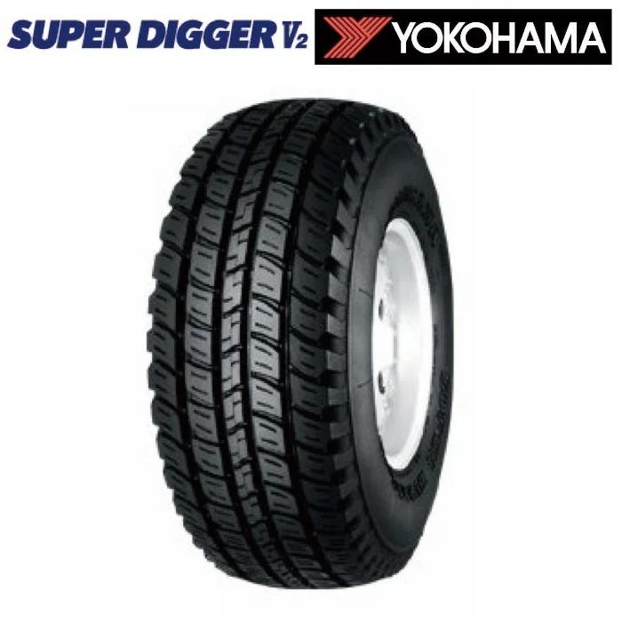 サマータイヤ YOKOHAMA SUPER DIGGER V2 SD05 215/80R15 109/107L バン・トラック用