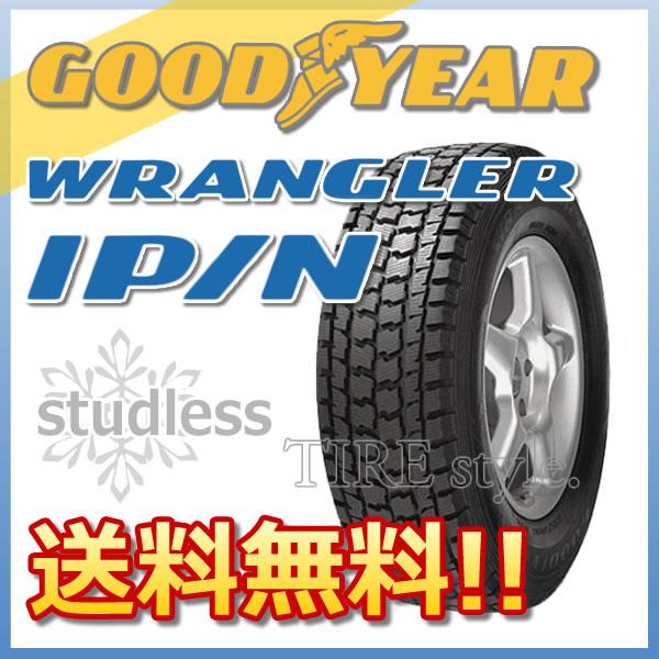スタッドレスタイヤ GOODYEAR WRANGLER IP/N 235/60R16 100Q 4X4・SUV用