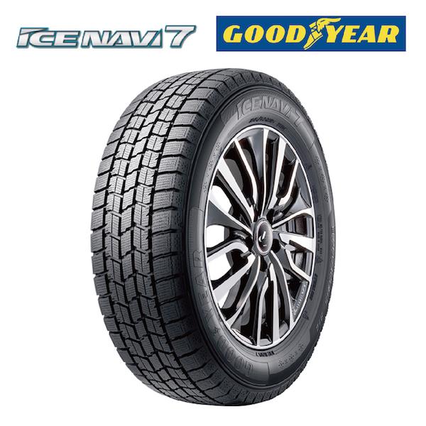 スタッドレスタイヤ GOODYEAR ICE NAVI 7 165/60R14 75Q 軽自動車用