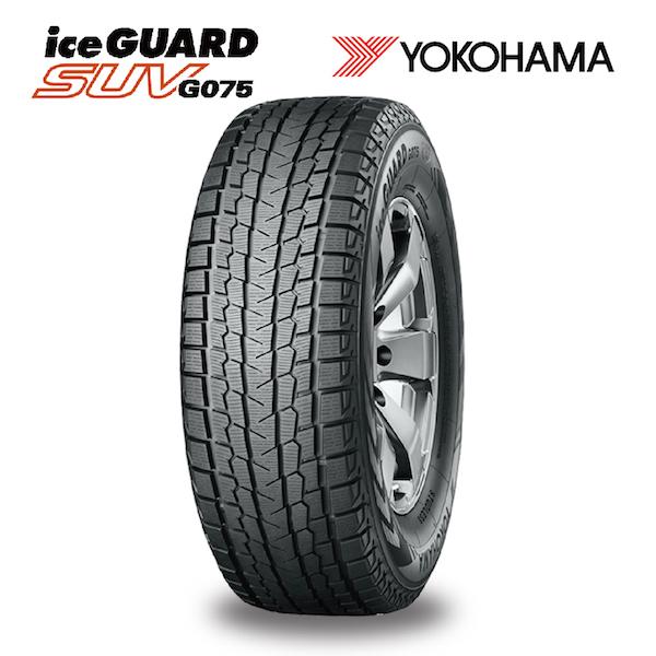 スタッドレスタイヤ YOKOHAMA ice GUARD SUV G075 225/70R16 103Q 4X4・SUV用