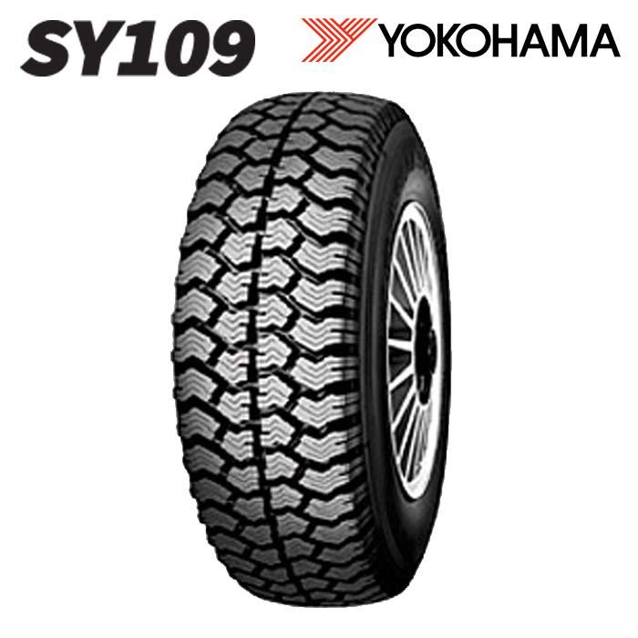 スタッドレスタイヤ YOKOHAMA SY109 750R15 12PR チューブタイプ バン・トラック用