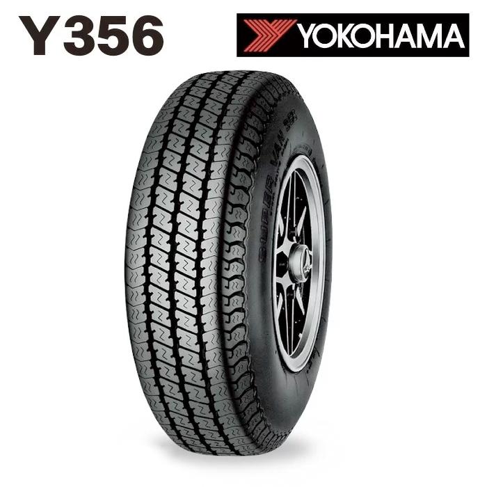 サマータイヤ YOKOHAMAY356 225/50R12.5 98L 【2本単位で販売商品】 (北海道・沖縄・全国離島は発送不可) バン・軽商用