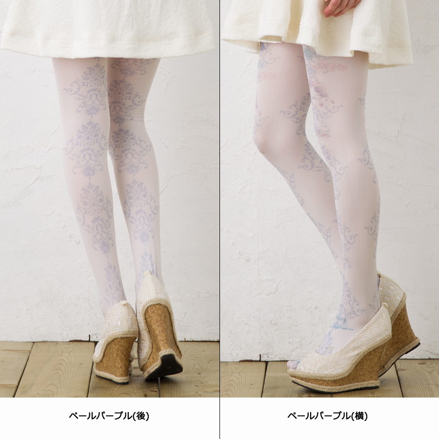 Angel harmony pattern printed tights (50 denier and legs fully patterned) ♪ 1050 yen buying and selection in ♪ pattern tights pattern stockings tights tattoo women tattoo tights Angel tattoo stocking tattoo tights ladies!-z fs2gm