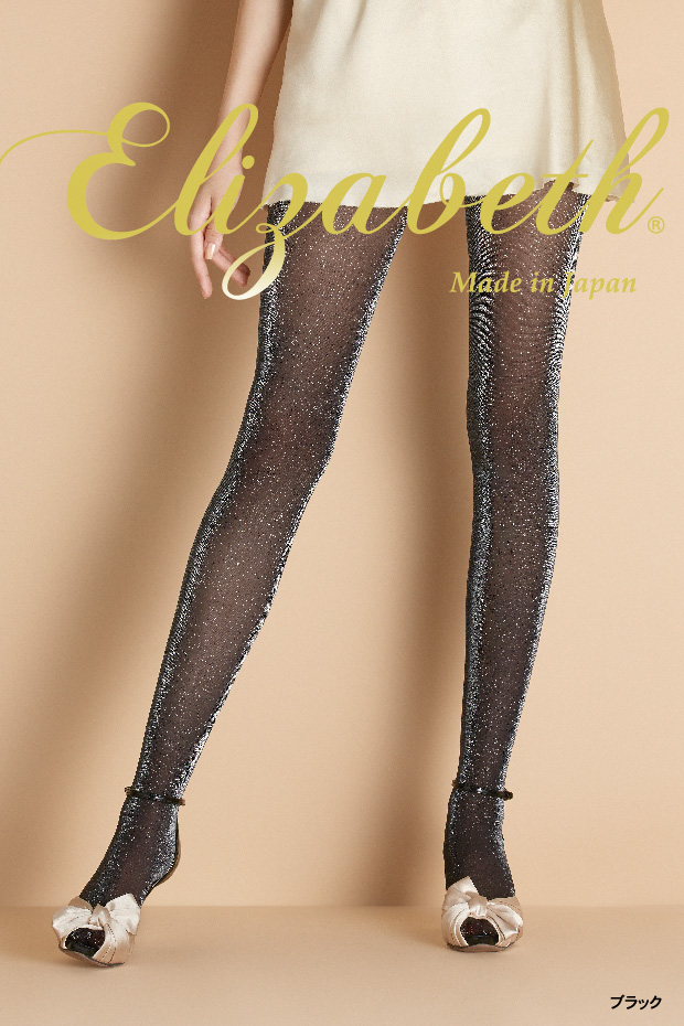 a17bd770b Elizabeth shimmer stockings (gusset toe through Japan-made) (sheer tights  tights pantyhose ...