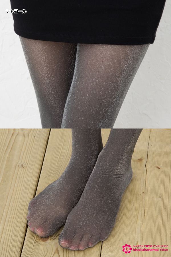 4f573c1c4 ... Elizabeth shimmer stockings (gusset toe through Japan-made) (sheer  tights tights pantyhose