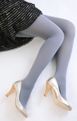 80 denial color tights (light gray) ♪ ladies stocking tights ladies!-ZB