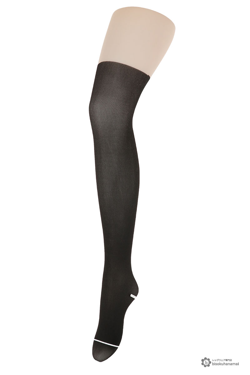 4041c2fb3 ... Fake knee high pattern tights (M-L black) knee high stockings Lady s  fake tights stockings ...