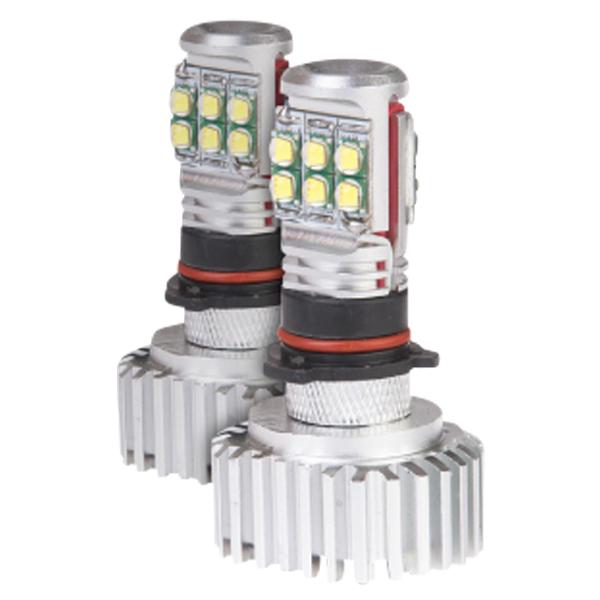 PSX26W LED フォグランプ 30W CREE 4500LM 6500K 純白光 2個セット 12 24V 高品質CREEチップ 故障リスクの低い別体タイプ LEDバルブ 車 バイク ホワイト 白 LEDフォグランプ _27198
