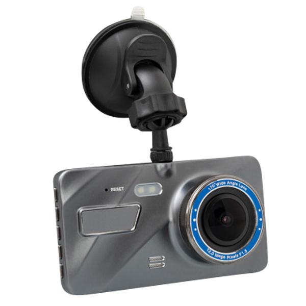 ドライブレコーダー 4インチ アルミボディ ミラーレンズ 1年保証 フルHDF1.8 高画質 200万画素 HDR 明るさ自動修正 簡単取付 Gセンサー 駐車監視機能 あす楽対応 _43200