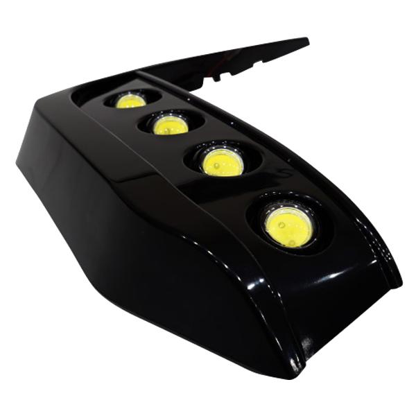 ヴェルファイア 30系 LED デイライトキット エアロタイプバンパー専用 純白光 6000K 高輝度LED 片側4連 SMDチップ採用 GGH3# AGH3# フォグランプ スモール連動 減光機能 埋め込み 簡単取付 カスタム ドレスアップ _59798