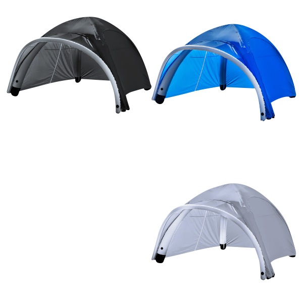エアフレーム テント 大型ドーム型 3m×3m 持ち運び用キャリーバッグ付 簡単組立 簡単収納 イベント フェス パーティー エアテント アウトドア 対応 @86286
