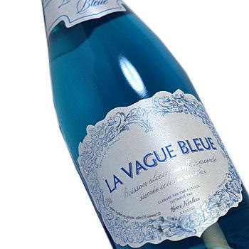 La VAG blue sparkling La Vague Bleue Spakling Blue