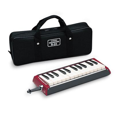【as】SUZUKI/スズキ B-24C 豊かな音量 32鍵盤 バスメロディオン 鍵盤ハーモニカ【楽ギフ_包装選択】【P2】