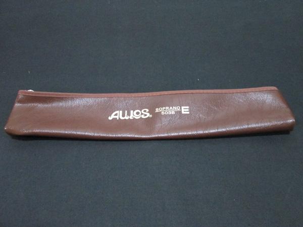 店 ケースだけをお探しの方に メール便発送商品 高級品 AULOS アウロス 503B用ケース リコーダーケース