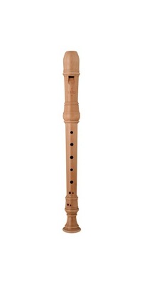MOECK/メック 4202(旧品番:229B) バロック式 木製 梨材 ソプラノ ロッテンブルク リコーダー【P2】