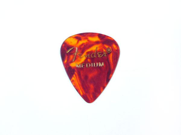 【メール便発送商品】Fender/フェンダー 351 Shape Shell Medium × 144枚/ティアドロップ型セルロイドピック/ミディアム CLASSIC Celluloid Pick【P2】