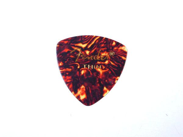 【メール便発送商品】Fender/フェンダー 346 Shape Shell Thin × 144枚/トライアングル型セルロイドピック/シン CLASSIC Celluloid Pick【P2】