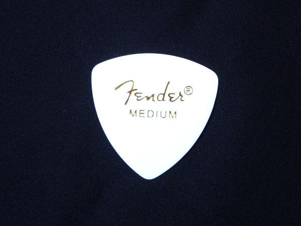 【メール便発送商品】Fender/フェンダー 346 Shape White Medium × 144枚/トライアングル型セルロイドピック/ミディアム CLASSIC Celluloid Pick【P2】