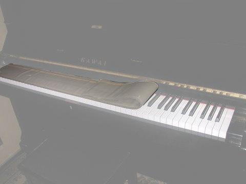 【メール便発送商品】モイスレガート 鍵盤用(ピアノ用) 湿度調整剤(湿度調整シート)大切な楽器のケースにおいておくだけ【P2】