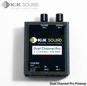 K&K SOUND Dual Channel PRO Preamp/ケーアンドケー・サウンド(デュアルチャンネルプロプリアンプ)