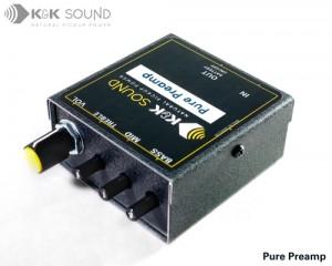 K&K SOUND Pure Preamp/ケーアンドケー・サウンド(ピュアプリアンプ)