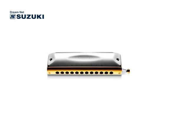 SUZUKI スズキ F-48S ストレート配列 新品未使用 優先配送 ファビュラスシリーズ P2 12穴クロマチックハーモニカ 楽ギフ_包装選択