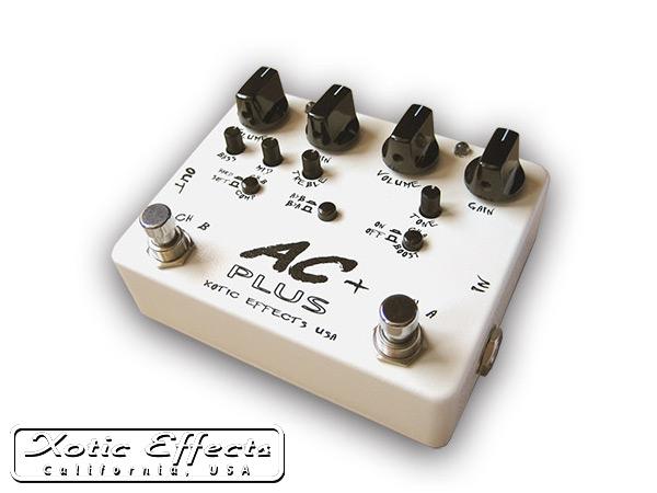 Plus/エーシープラス Xotic エキゾチック・エフェクツ【P2】 オーバードライブ AC 2チャンネル仕様 Effects