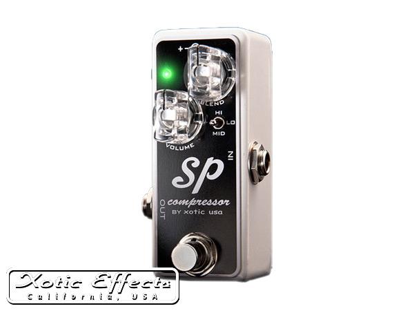 Xotic Effects SP Comp/SP-Comp コンプレッサー エキゾチック・エフェクツ【P2】