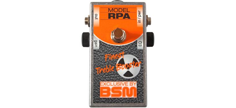 【お取寄商品】【正規品】BSM RPA スペシャル・ブースター(リッチーブラックモア・プリアンプ)【P2】
