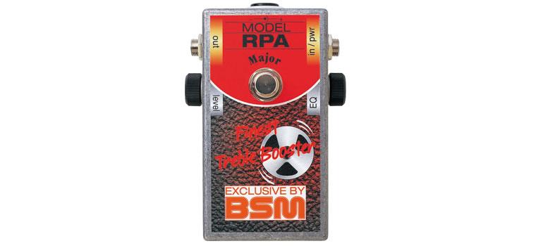 【お取寄商品】【正規品】BSM RPA Major スペシャル・ブースター(リッチーブラックモア・プリアンプ・ゲインアップモデル)【P2】