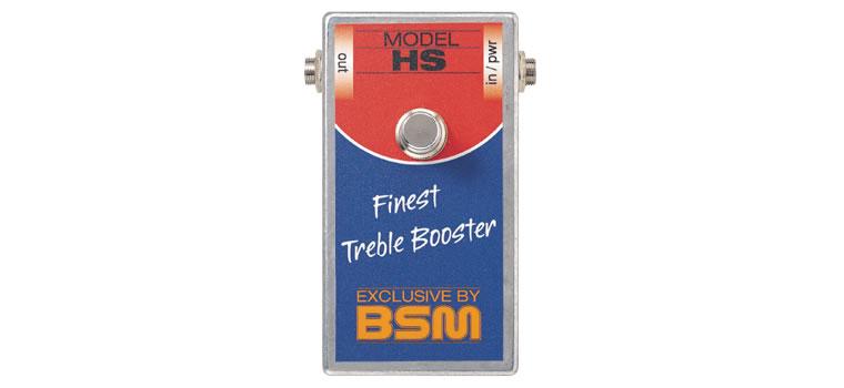 【お取寄商品】【正規品】BSM HS ハイゲイン・トレブルブースター【P2】