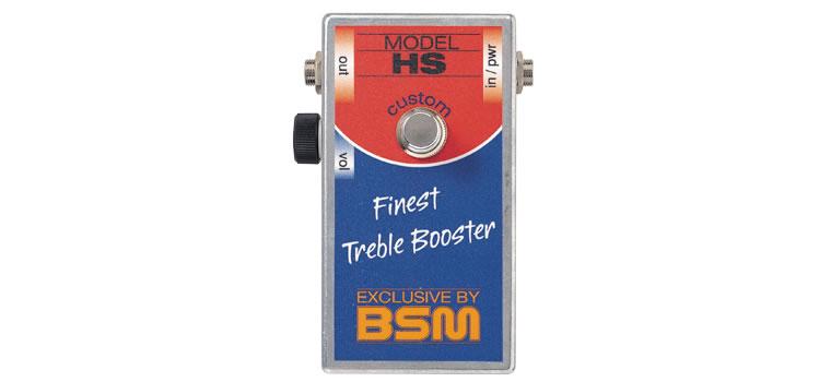 【お取寄商品】【正規品】BSM HS Custom ハイゲイン・トレブルブースター【P2】