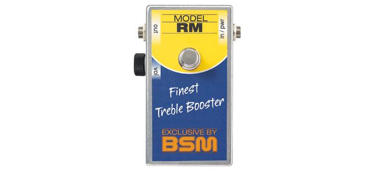 【お取寄商品】【正規品】BSM RM ミドルゲイン・トレブルブースター Range Masterを再現、OC44使用【P2】