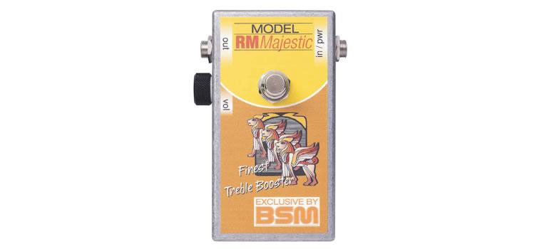 【お取寄商品】【正規品】BSM RM Majestic カスタムメイド・トレブルブースター希少なゲルマニウム・トランジスタOC44を厳選して製作したRM【P5】