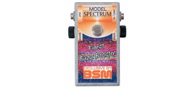 【お取寄商品】【正規品】BSM Spectrum カスタムメイド・トレブルブースター トミー・ボーリンのサウンドのファズ・ブースター【P2】