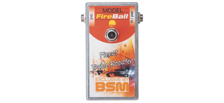 【お取寄商品】【正規品】BSM FireBall カスタムメイド・トレブルブースター リッチー・ブラックモア「ファイアボール」のサウンド【P2】