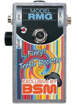 【お取寄商品】【正規品】BSM RMG ローゲイン・トレブルブースター ロジャー・マッギンのジングル-ジャングル・サウンド【P2】