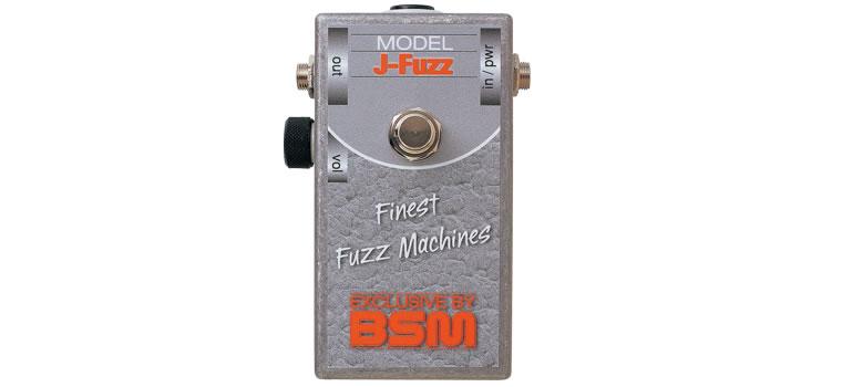 【お取寄商品】【正規品】BSM J-Fuzz ファズ 70年代初期に人気を博したJenningsのファズを再現【P2】