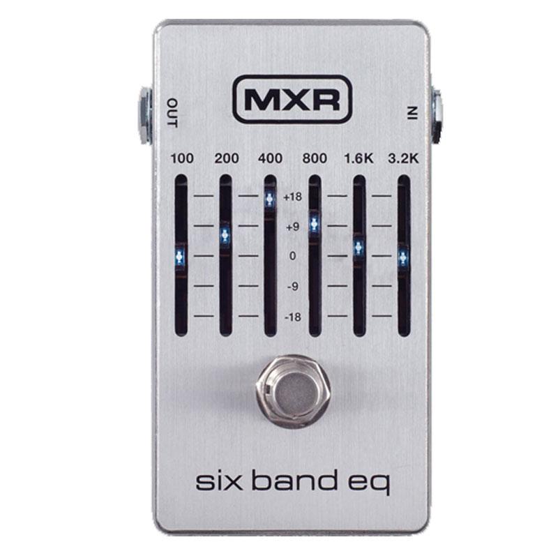 【あす楽対応】エフェクター フェイザー 6バンド・グラフィックイコライザー MXR/M109S 6 Band Graphic EQ / M-109S エムエックスアール