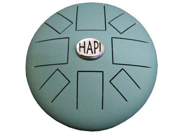 HAPI Original Drum/ハピドラム HAPI-D2-G:Aqua Teel Key:D Minor(ディーマイナー)ニ短調【P2】