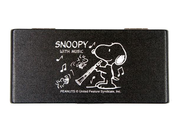 SNOOPY 大幅値下げランキング BAND COLLECTION SCL10 SCL-10 ブラック 10枚収納可能 P2 高品質 コレクション バンド スヌーピー B♭クラリネット用リードケース