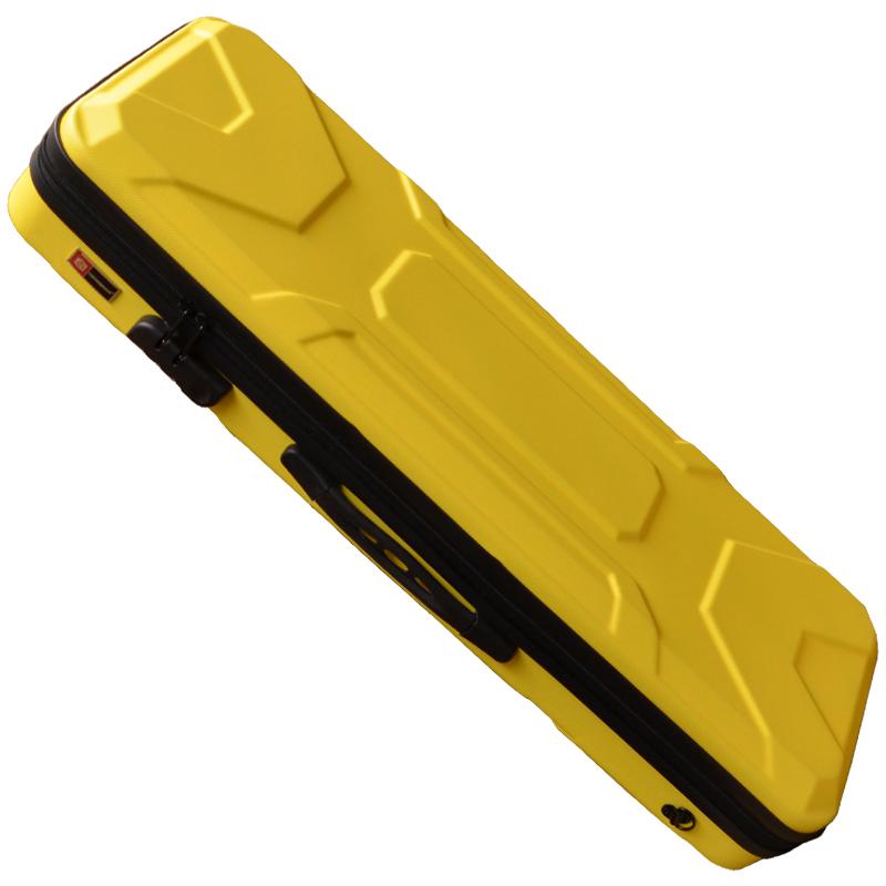「在庫〇 23時間発送」バイオリンケース クロスロック CROSSROCK CRA400VF YL 4/4 Violin ABS Case Yellow☆ ヴァイオリンケース イエロー【P2】