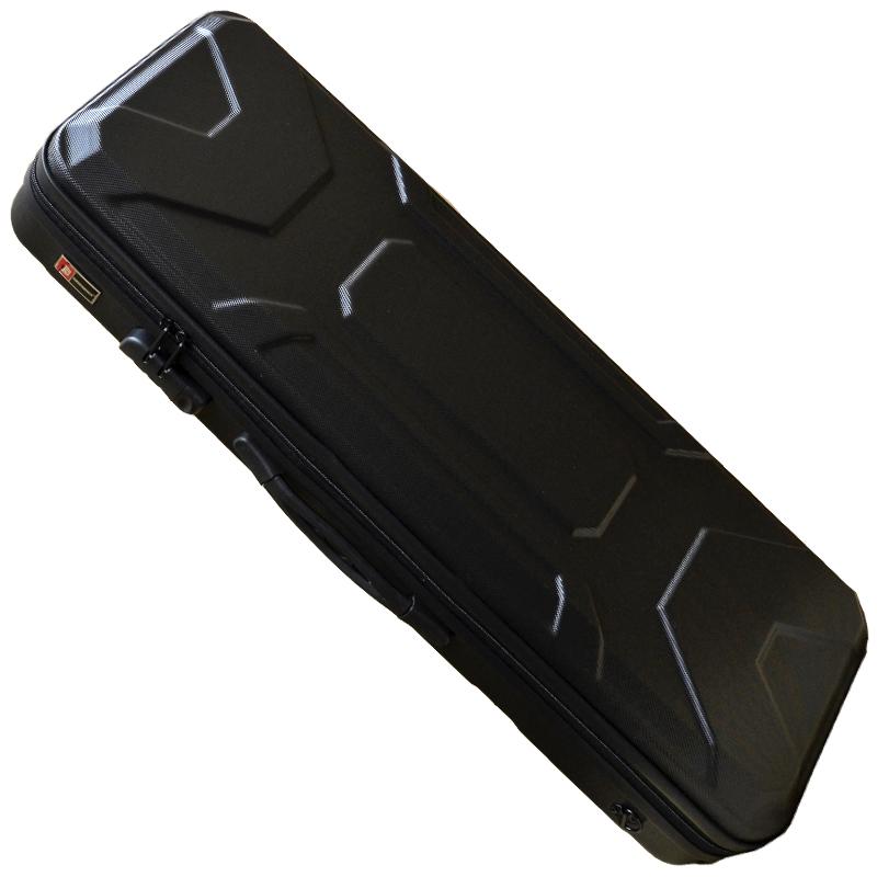 CROSSROCK CRA400VF BK 4/4 Violin oblong zippered ABS Case Black☆クロスロック ヴァイオリンケース ブラック